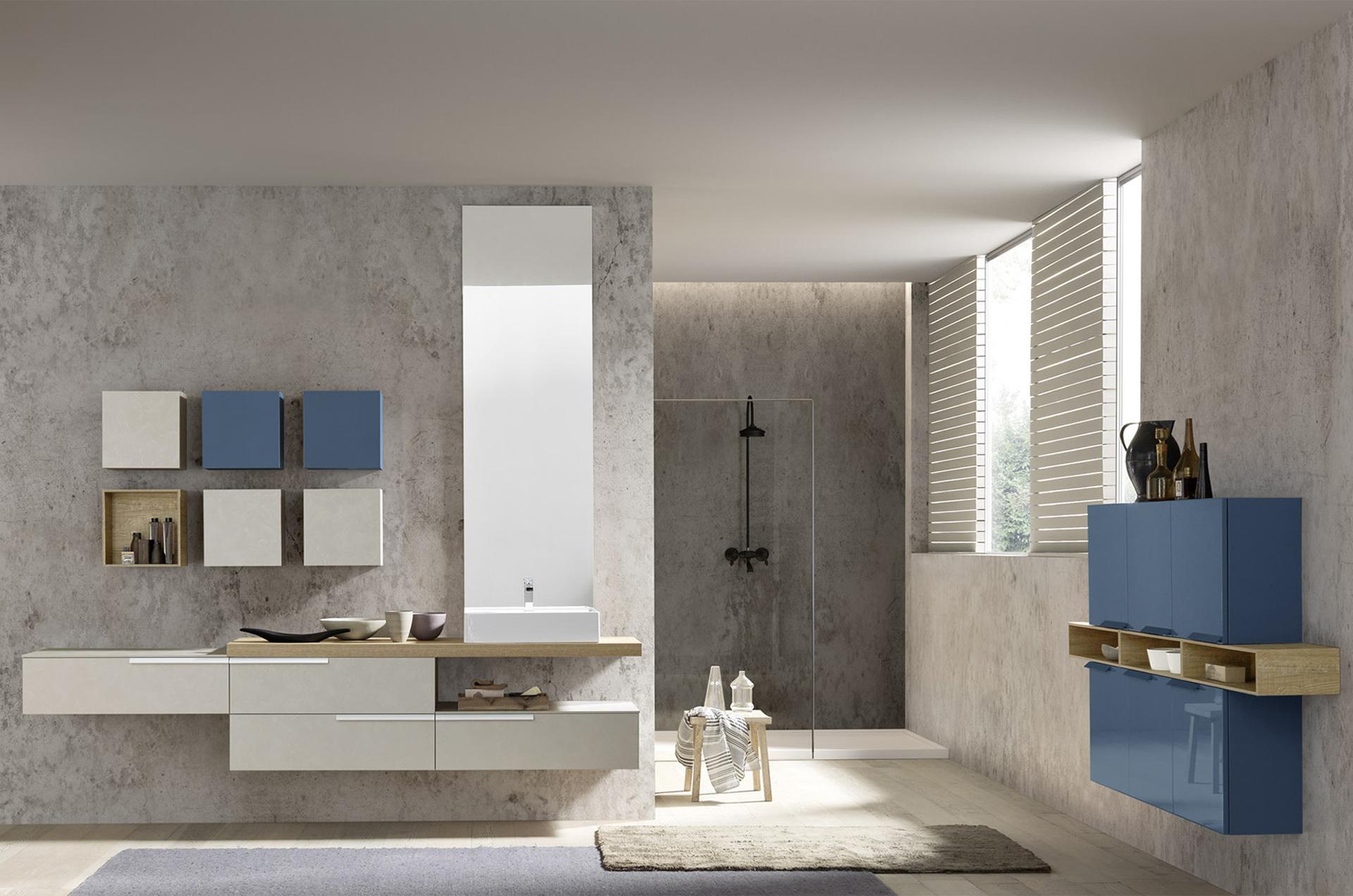 Beige E Grigio Arredamento progettazione e arredamento bagni moderni | mtm arreda gatteo