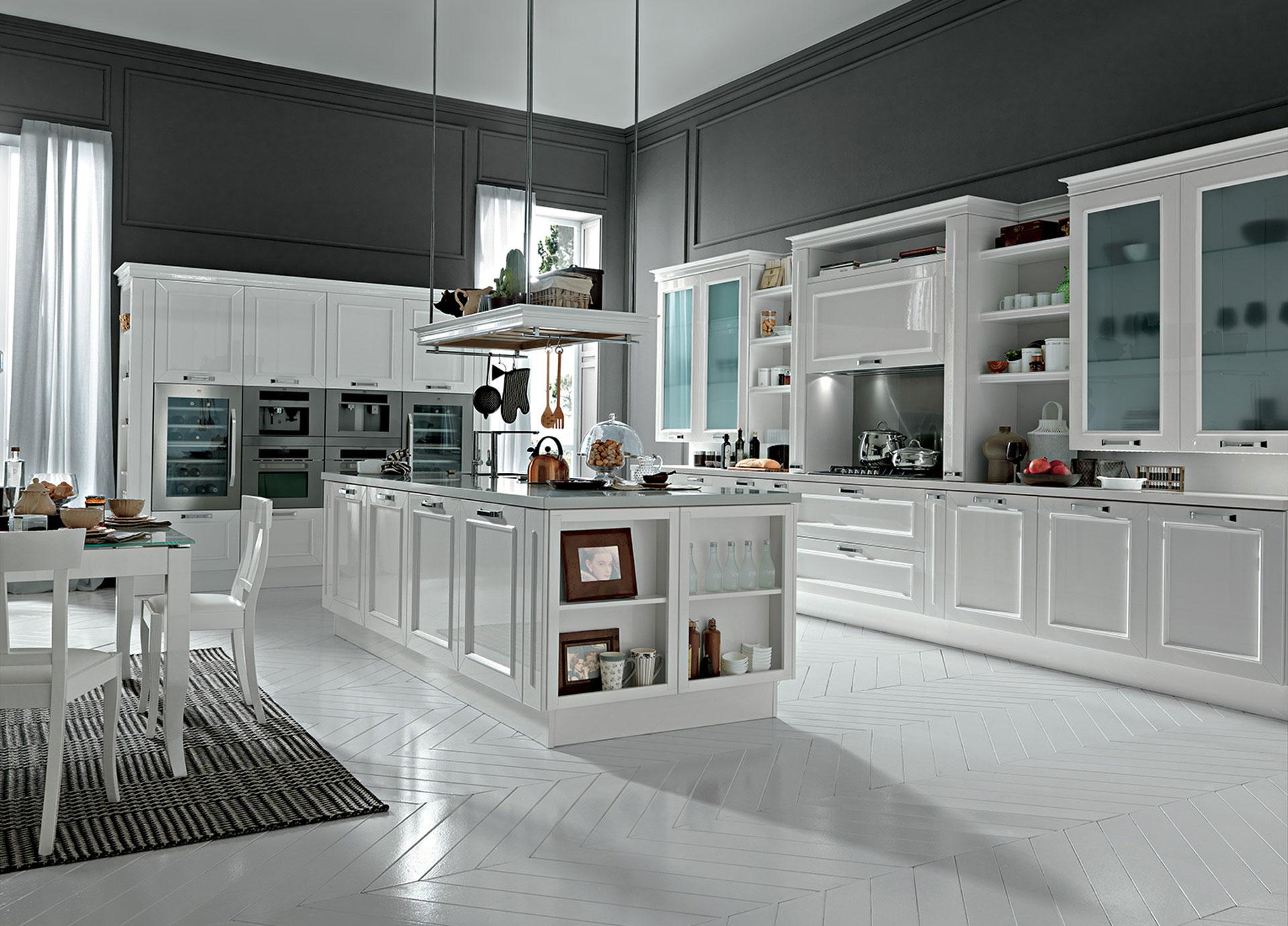 Arredamento Cucine Moderne - Colore Bianco e Grigio!