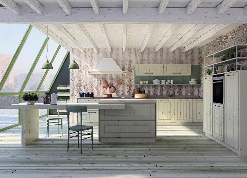 Arredamento Cucina - Colore Bianco e Verde!