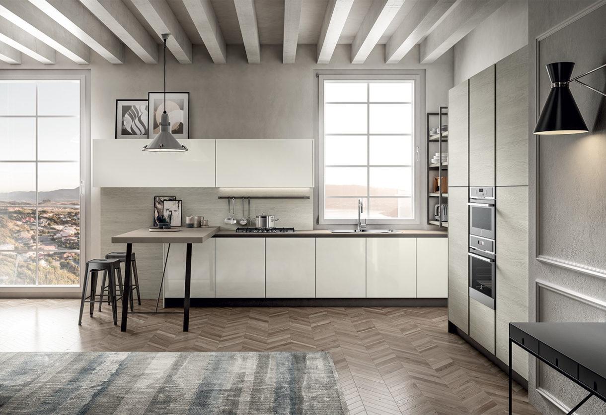 Arredamento Cucina - Colore Bianco e Nero!