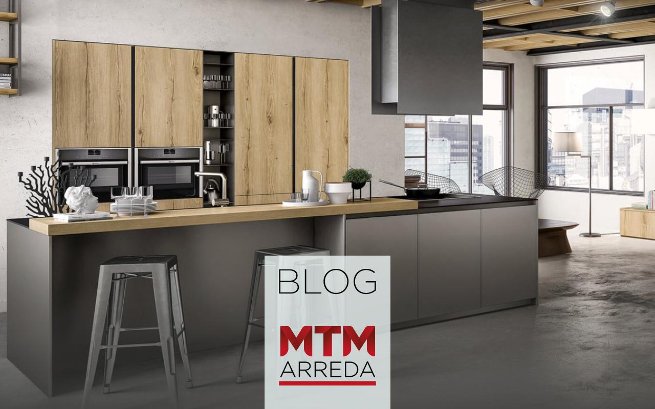 Una Cucina Alla Moda Scegli L Arredamento In Stile Industrial Mtm Arreda Gatteo